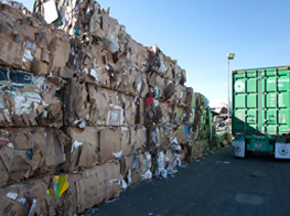 process of cardboard recycling in anaheim, ca